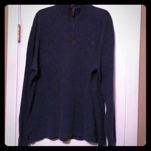 Men's XL Polo quarter zip pullover